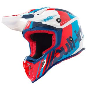Casque cross RACE NAVY RED 2019 Bleu/Rouge