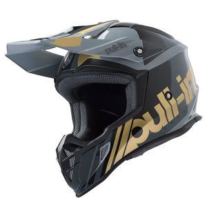 Casque cross RACE GREY GOLD 2019 Gris/Or