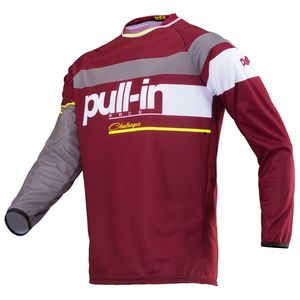 Maillot cross RACE BURGUNDY 2019 Rouge