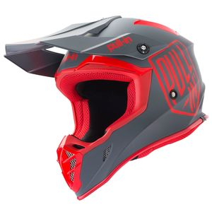Casque cross SOLID RED GREY 2019 Rouge