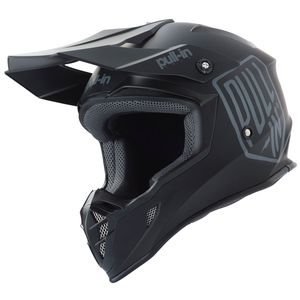 Casque cross SOLID BLACK 2019 Noir