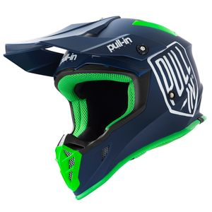 Casque cross SOLID NAVY 2019 Bleu