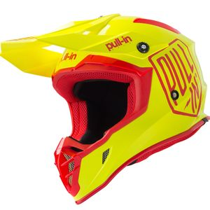 Casque cross SOLID NEON YELLOW 2019 Jaune fluo