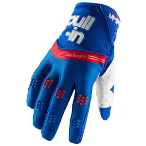 Gants cross CHALLENGER BLUE 2019 Bleu