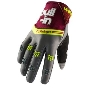 Gants cross CHALLENGER GREY 2019 Gris