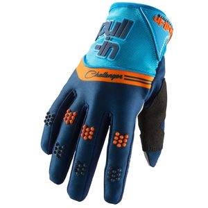 Gants cross CHALLENGER NAVY ORANGE 2019 Bleu/Orange