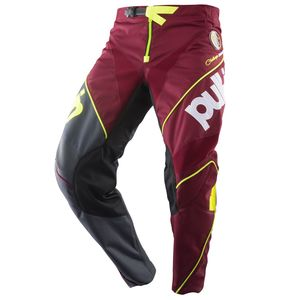 Pantalon cross RACE BURGUNDY 2019 Rouge