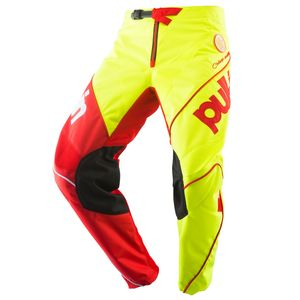 Pantalon cross RACE NEON YELLOW RED 2019 Jaune