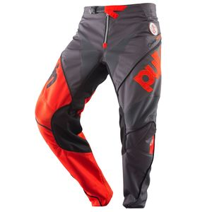 Pantalon cross RACE CHARCOAL ORANGE ENFANT  Gris/Orange