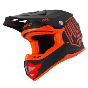 Casque cross SOLID ORANGE ENFANT  Orange