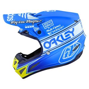 Casque cross SE4 COMPOSITE - TEAM EDITION 2 - OCEAN 2019 Blue