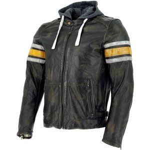 Blouson THE TOULON - FLUO  Black Yellow