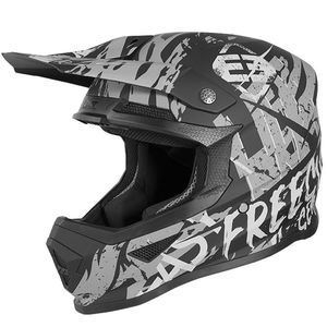 Casque cross XP-4 - MANIAC - BLACK GREY MATT 2020 Black Grey Matt