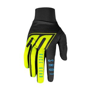Gants cross AEROLITE - ALPHA - BLUE NEON YELLOW 2020 Blue Neon Yellow