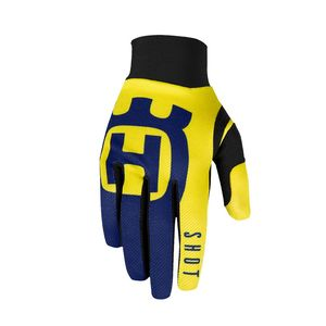 Gants cross AEROLITE - HUSQVARNA - BLUE YELLOW 2020 Blue Yellow