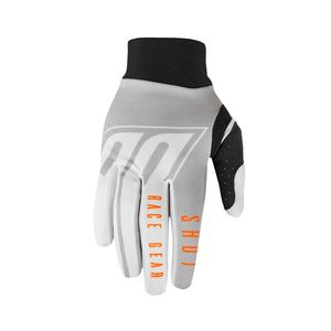 Gants cross AEROLITE - ALPHA - LIGHT GREY ORANGE 2020 Light Grey Orange