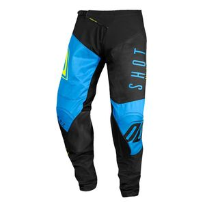 Pantalon cross AEROLITE - ALPHA - BLUE NEON YELLOW 2020 Blue Neon Yellow