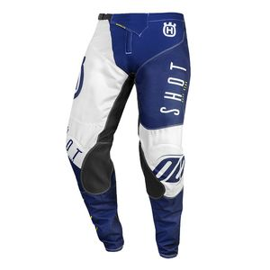 Pantalon cross AEROLITE - HUSQVARNA - BLUE YELLOW 2020 Blue Yellow