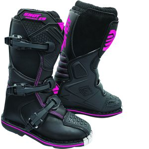 Bottes cross X10 2.0 - BLACK PINK 2021 Black Pink