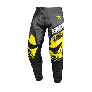 Pantalon cross CONTACT - ROCKSTAR 2020 2020 Grey Neon Yellow