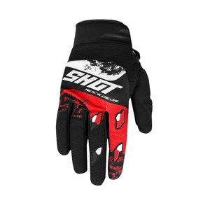 Gants cross CONTACT - SHADOW - RED WHITE 2020 Red White