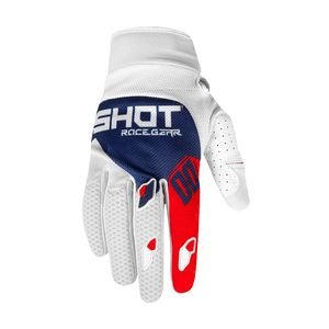 Gants cross CONTACT - TRUST - BLUE RED 2020 Blue Red