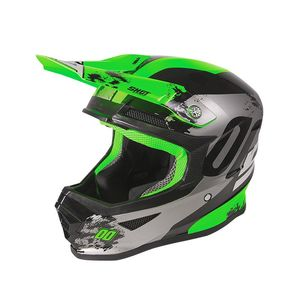 Casque cross FURIOUS KID - SHADOW - NEON GREEN  Neon Green