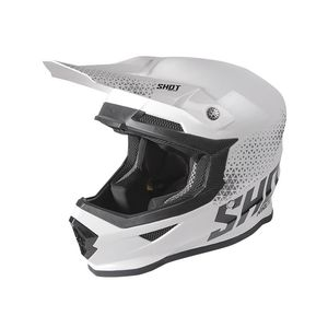 Casque cross FURIOUS - RAW - WHITE BLACK GLOSSY 2020 White Black