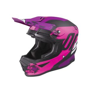 Casque cross FURIOUS - SHADOW - PINK FUSCHIA MATT 2020 Pink Fuschia Matt