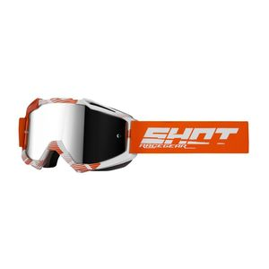 Masque cross IRIS - JET - ORANGE WHITE GLOSSY 2021 Orange White