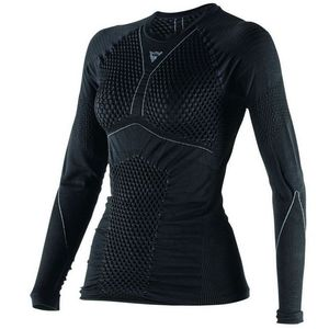 Maillot Technique D-CORE THERMO TEE LS LADY  Black/anthracite