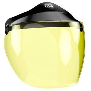 Ecran casque LONG JAUNE  Jaune