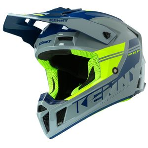 Casque cross PERFORMANCE PRF - GRAPHIC - GREY NEON YELLOW 2020 Grey Neon Yellow