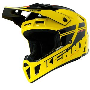Casque cross PERFORMANCE PRF - GRAPHIC - YELLOW BLACK 2020 Yellow Black