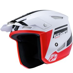 Casque cross Kenny TRIAL UP - GRAPHIC - BLACK RED 2021