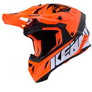 Casque cross TROPHY - GRAPHIC - ORANGE 2020 Orange