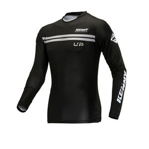 Maillot cross TRIAL UP - COMPRESSION - BLACK 2021 Black
