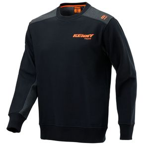 Sweat CVC RACING  Noir/Gris