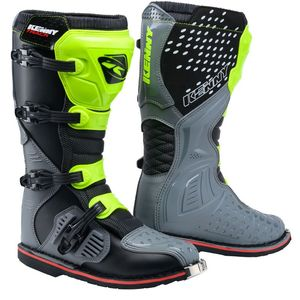 Bottes cross TRACK - GREY NEON YELLOW 2021 Grey Neon Yellow