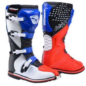 Bottes cross TRACK - PATRIOT - BLUE RED 2021 Blue Red