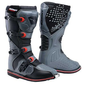 Bottes cross TRACK - GREY RED 2021 Grey Red