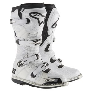 Bottes Cross Alpinestars Tech 8 Rs - White 2018