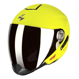 Casque EXO-300 AIR - UNI BRILLANT  Jaune Fluo