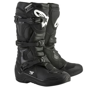 Bottes cross TECH 3 - BLACK 2021 Black