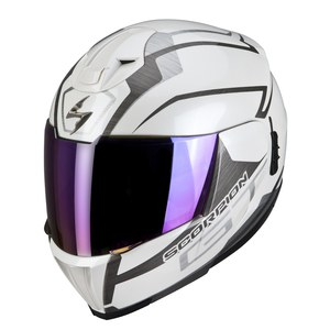 Casque EXO-910 AIR - GT  Blanc brillant