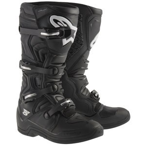 Bottes cross TECH 5 - BLACK 2021 Black