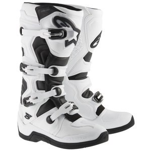 Bottes cross TECH 5 - BLACK 2020 White/black