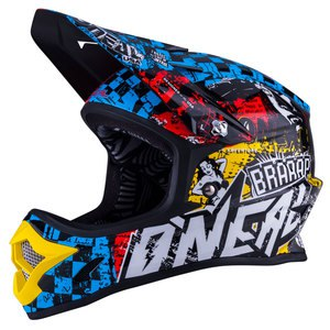 Casque cross 3 SERIES YOUTH - WILD - MULTICOLORE  Multicolore