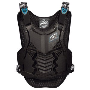 Plastron HOLESHOT SHORT - BLACK BLUE 2020 Black