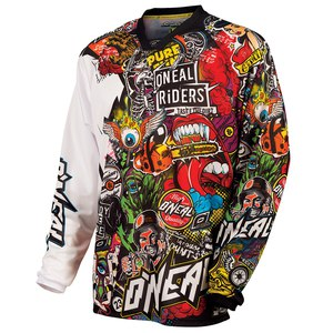 Maillot Cross O'neal Mayhem - Crank - Black Multi 2019